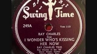 RAY CHARLES  I Wonder Who