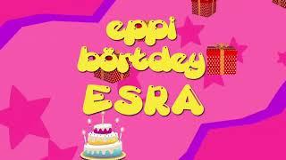 İyi ki doğdun ESRA - İsme Özel Roman Havası Doğum Günü Şarkısı (FULL VERSİYON)