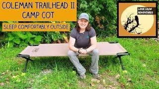 Coleman Trailhead II Camp Cot