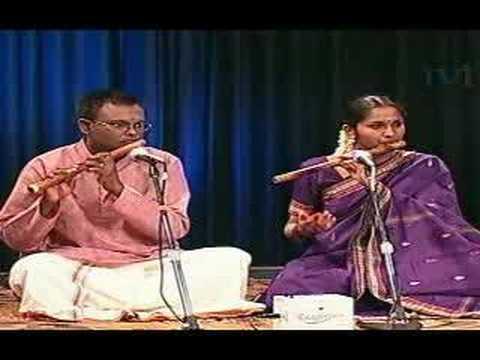 Carnatic - Flute Duet - Valaji Varnam