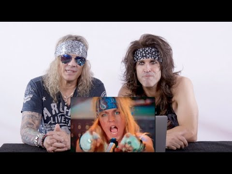 The Man Cave - Steel Panther React to Classic Heavy Metal Videos