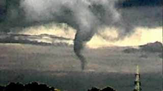 Tornado über Damme / Südfelde, Niedersachsen
