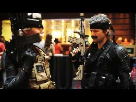 Snake and Ghost do DragonCon 2011