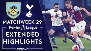 Burnley v. Tottenham | PREMIER LEAGUE HIGHLIGHTS | 3/7/2020 | NBC Sports