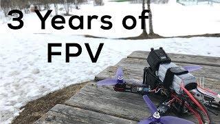3 Years of FPV Drone Progress