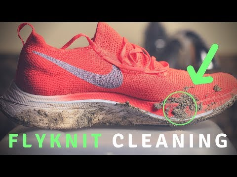 Nike Vaporfly 4% Flyknit Cleaning | Why and How To