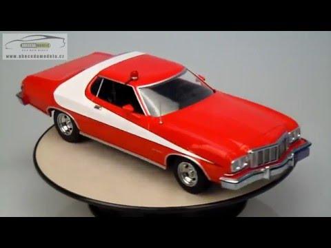 STARSKY HUTCH Serie TV Modello Auto FORD GRAN TORINO 1//18 DieCast MODEL CAR