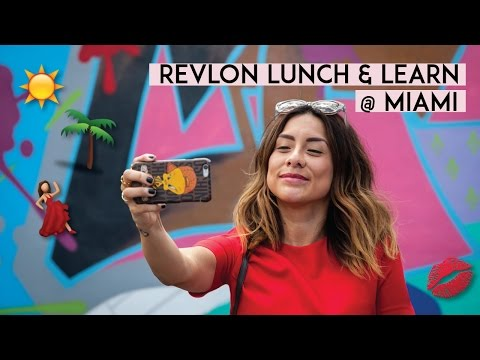 Revlon Lunch & Learn en Miami + Concurso