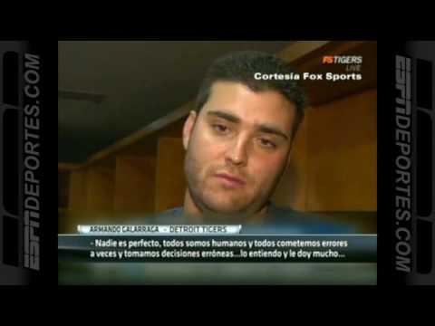 Entrevista Armando Galarraga Juego Perfecto