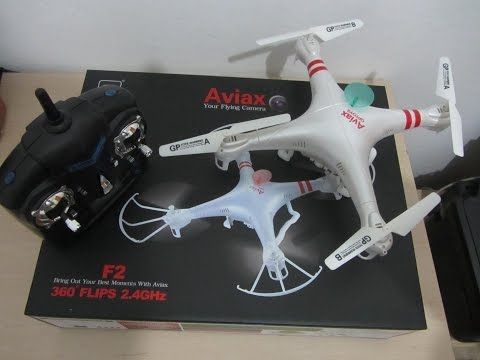 Unboxing Dron Aviax F2