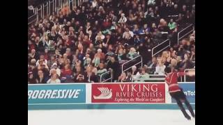 Nathan Chen's Five Quadruple Jumps And Final Combination Spin