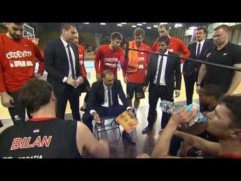ABA Liga 2016/17, Round 25 match: Union Olimpija - Cedevita (5.3.2017)