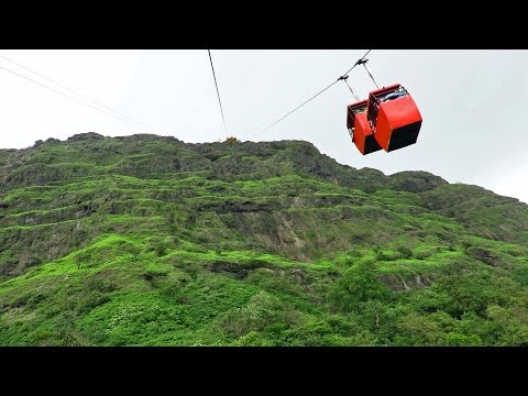 WORLDS MOST DEADLIEST ROPEWAY Ride At Raigad Fort