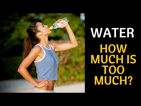 Drinking Too Much Water Too Fast Can Kill You