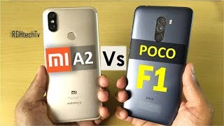 Poco F1 vs Mi A2 | Camera, Battery, Gaming, Sound, Design & Build