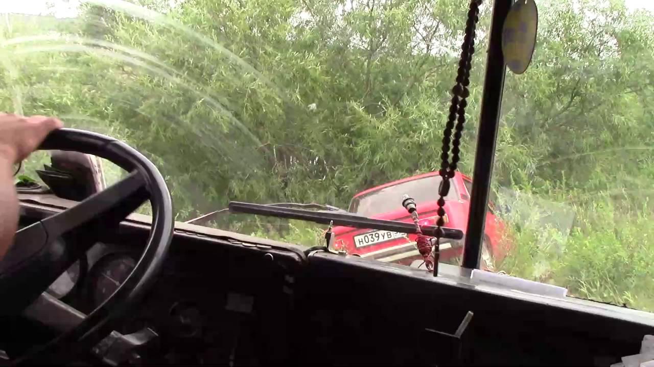 Будни Камазиста   Съездил в Чкаловск прорезал три колеса