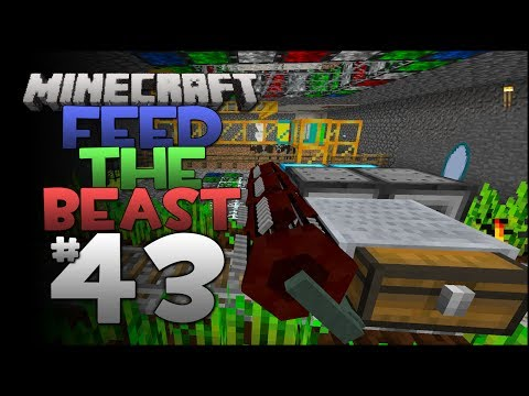 Minecraft: Feed The Beast - Episode 43 - Automatic Wheat / F