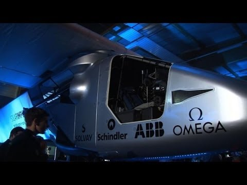 Next generation solar plane unveiled in Switzerland