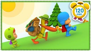 ⛰️ POCOYO in ENGLISH - Mountain Holidays [ 120 minutes ]   CARTOONS for Children