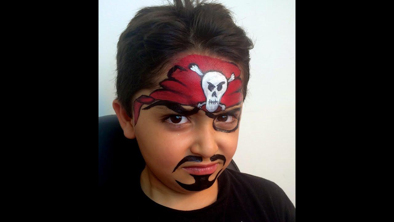 imagenes de maquillaje de piratas
