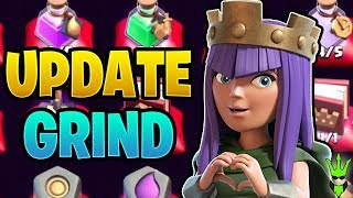 STARTING THE UPDATE GRIND ON THE SECOND TH12! - Clash of Clans