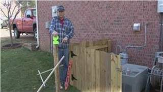 Home Improvement Projects : Techniques For Building A Wooden Fence
