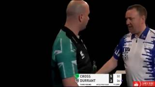 Argument with Rob Cross and Glen Durrant after Win - 2019 PDC Pro Tour
