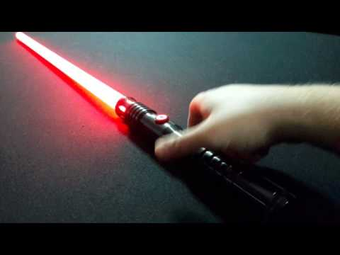 Ultra Sabers Dominix V4 Review Video - Blazing Red