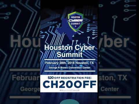 Houston Cyber Summit 2018