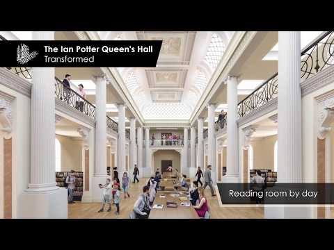 State Library Victoria's Vision 2020 Designs Revealed