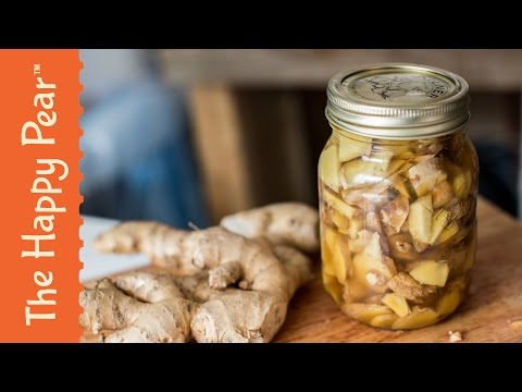 Ginger Bug - The Happy Pear - Fermented Gingerade