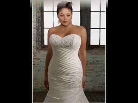 Plus Size Mermaid Wedding Dresses Youtube
