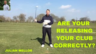 HOW TO RELEASE YOUR CLUB HEAD CORRECTLY. EASIEST SWING