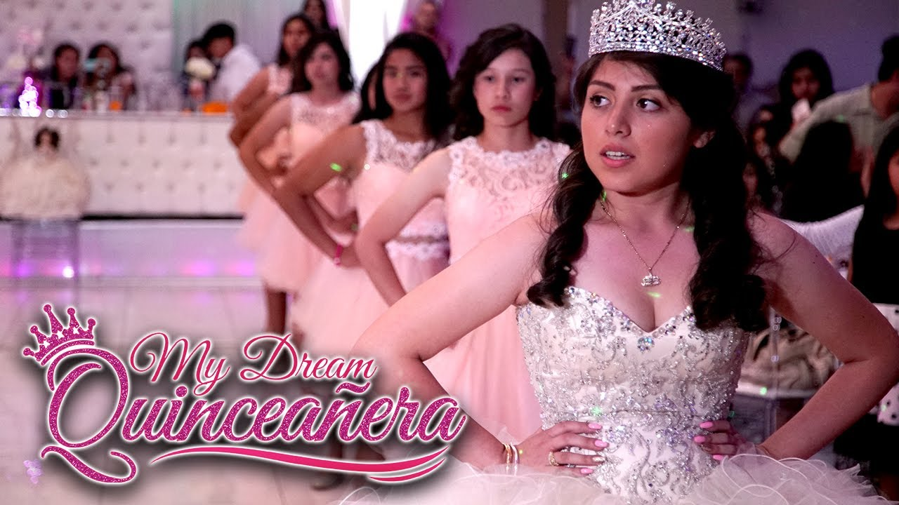 my quinceañera My mother, along with all of my godparents, began planning my quinceañera after i turned fourteen my mother and aunts took me to a bridal shop where i was - 4218852.