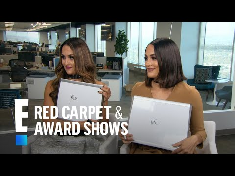 Nikki & Brie Bella Play 'Domestic Divas' | E! Live from the Red Carpet