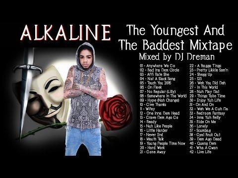 Alkaline  The Youngest And The Baddest Mixtape  @DJDreman