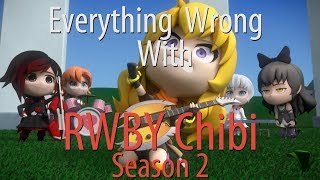 Everything Wrong With RWBY Chibi Season 2 In 28 Minutes Or Less