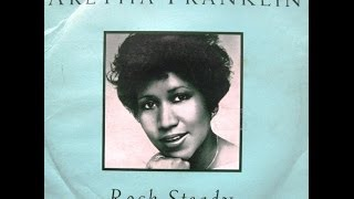 "Aretha Franklin - Rock Steady (Sure Is Pure Remix Edit) / Rock Steady - 7"" UK - 1994"