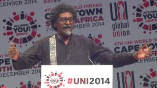 Jay Naidoo thanks unions for anti-apartheid struggle