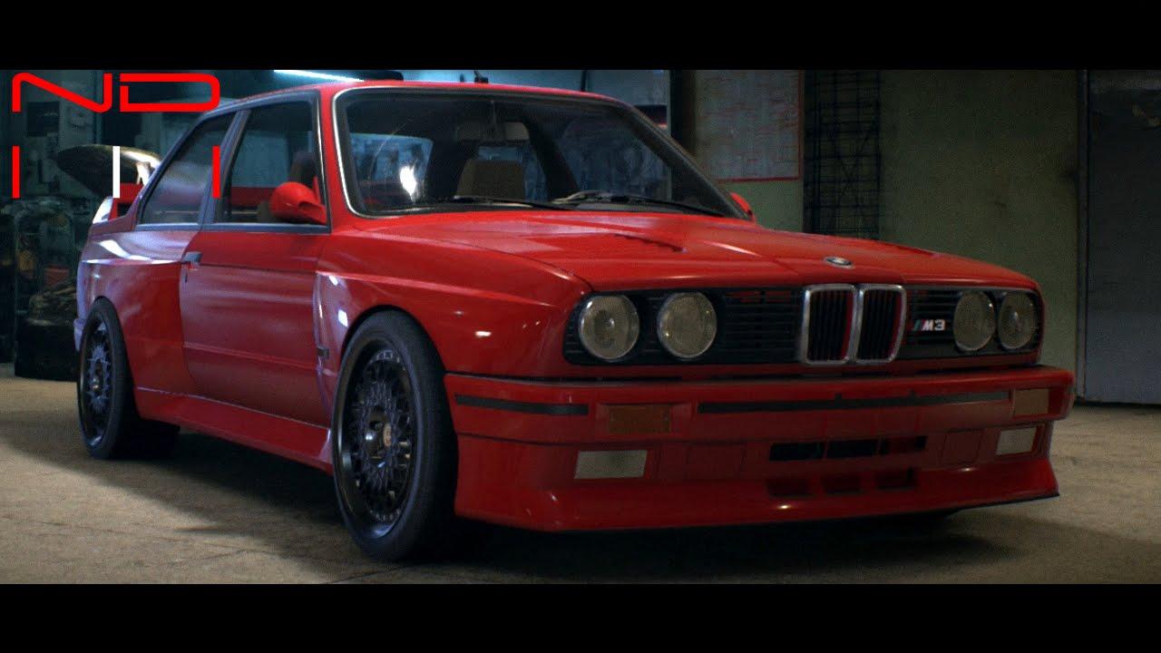 BMW M3 Evolution II E30 (1988) - Modified - YouTube