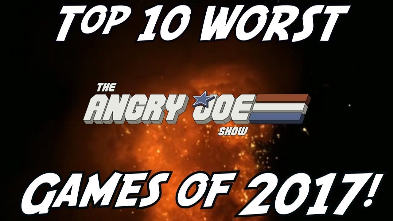 Top 10 Worst Games Of 2017 Youtube