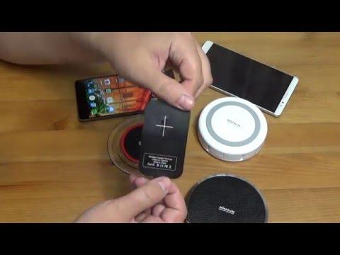 Беспроводные зарядки Qi. Обзор 3х устройств