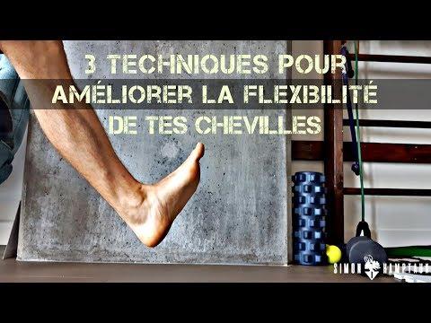 3 techniques pour améliorer la mobilité de tes chevilles