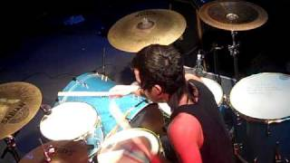 Pop Punk live Drumming: Kevin P Stage Shots- A Dull Science