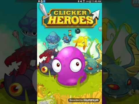 Clicker Heroes CHEAT [AUTO CLICKER] *android*