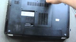 How to remove hard drive from HP Pavilion DV6 Laptop
