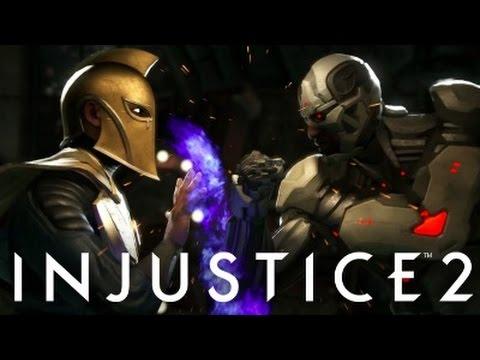Injustice 2 - Dr Fate vs Cyborg