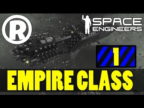 Ultra Build (P1) - Empire Class Carrier - Space Engineers