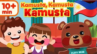 Hello Hello Hello in Filipino | Kids Nursery Rhymes & Songs | Awiting Pambata Compilation