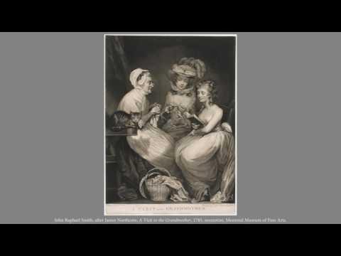 John Raphael Smith, after James Northcote, A Visit to the Grandmother, 1785 by Kim Glassman